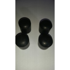 Rubber pole caps